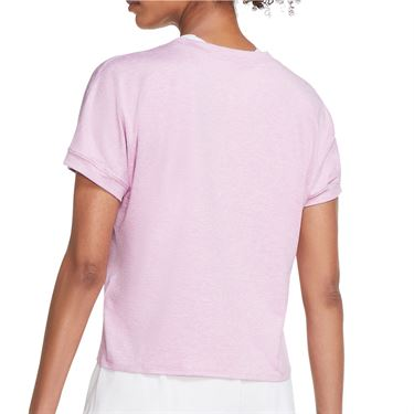 Nike Court Dri Fit Top Womens Beyond Pink/White CI9316 680