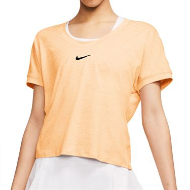 Nike Court Dri Fit Top Womens Guava Ice/Black CI9316 838