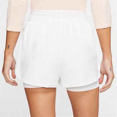 Nike Court Flex Short Womens White/Black CI9378 100