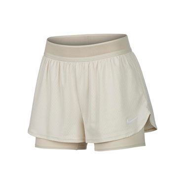 Nike Court Flex Short Womens Light Orewood Brown/White CI9378 104