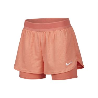 Nike Court Flex Short Womens Sunblush/White CI9378 655