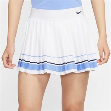 Nike Maria Skirt - White/Royal Pulse/Blackened Blue