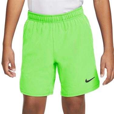 Nike Court Boys Flex Ace Short Lime Glow/Black/White CI9409 345