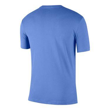 Nike Court Tennis Graphic Tee Shirt Mens Royal Pulse/White CJ0429 478