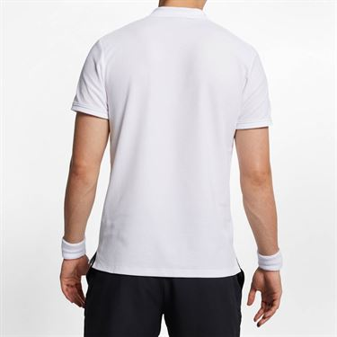 Nike Court Advantage Polo - White/White