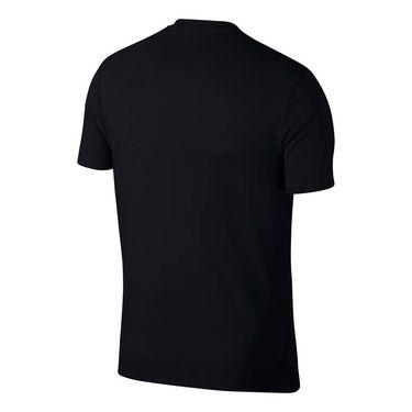 Nike Court Heritage Tee - Black/White
