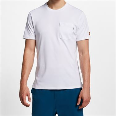 Nike Court Heritage Tee - White/Black