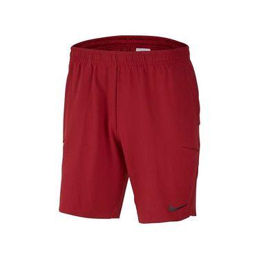 Nike Court Flex Ace Short 9 inch - Team Crimson/Black