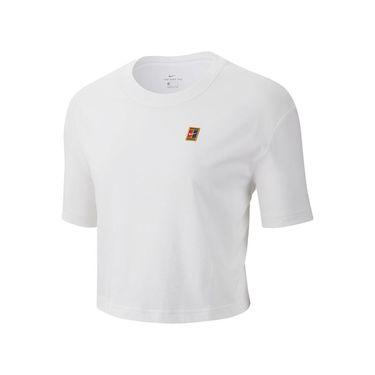 Nike Court Tee Shirt Womens White CJ0669 100