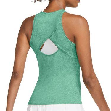 Nike Court Dri Fit Tank Womens Healing Jade/White CJ0942 316