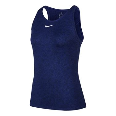 Nike Court Dri Fit Tank Womens Obsidian/White CJ0942 451