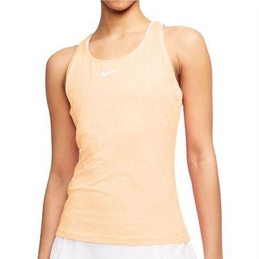 Nike Court Dri Fit Tank Womens Guava Ice/White CJ0942 838