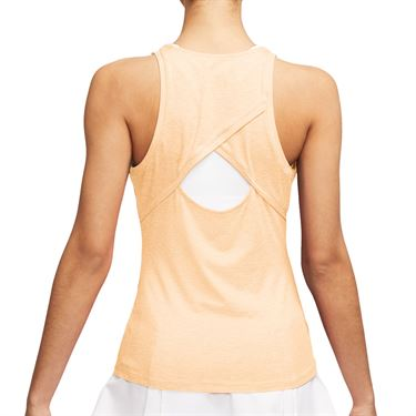 Nike Court Dri Fit Tank Womens Guava Ice/White CJ0942 838