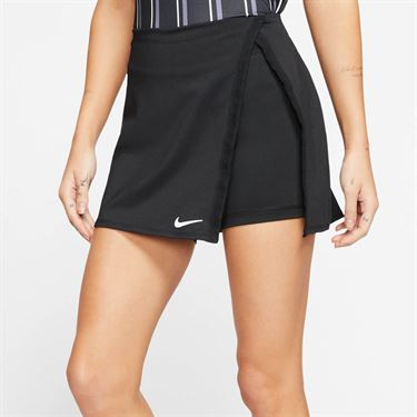 Nike Court Dri Fit Skirt Womens Black/White CJ0944 010