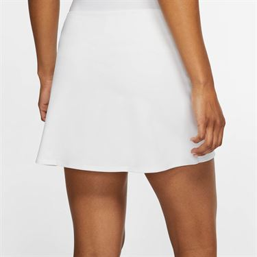 Nike Court Dri Fit Skirt Womens White/Black CJ0944 100