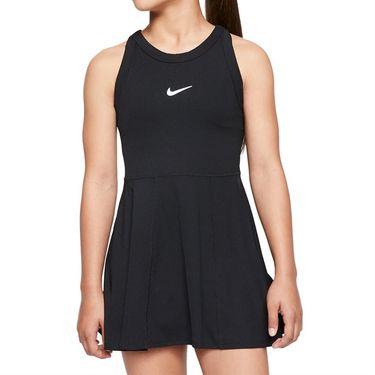 Nike Girls Court Dri Fit Dress Black/White CJ0947 010