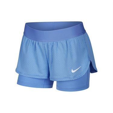 Nike Girls Court Flex Short Royal Pulse/ White CJ0948 478
