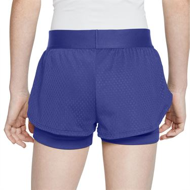 Nike Girls Court Flex Short Rush Violet/White CJ0948 554