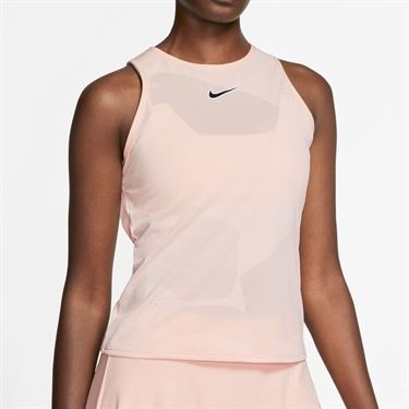 Nike Court Tank Womens Washed Coral/Off Noir CJ1151 664