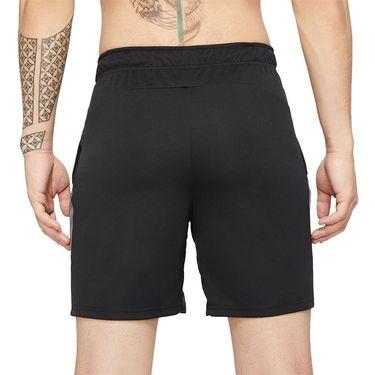 Nike Dri Fit Short Mens Black/Iron Grey/White CJ2007 010