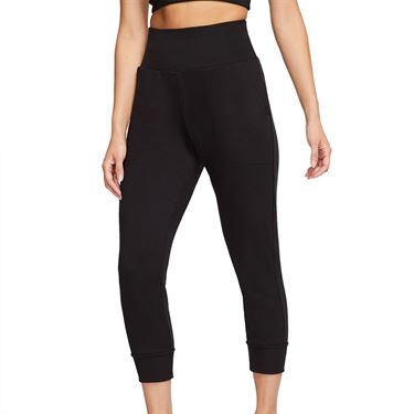 Nike Yoga Pant Womens Black/Dark Smoke Grey CJ3827 010