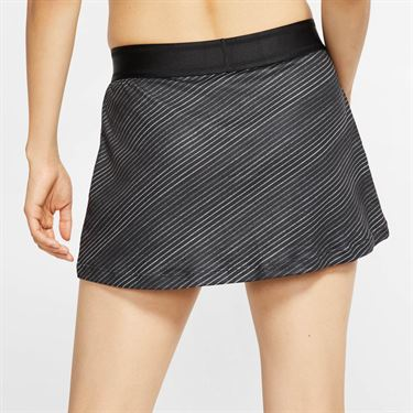 Nike Court Skirt Womens Black/White CJ6734 010