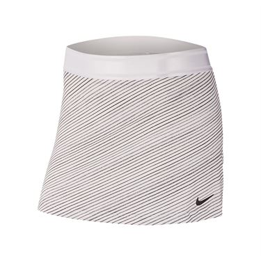 Nike Court Skirt Womens White/Black CJ6734 100