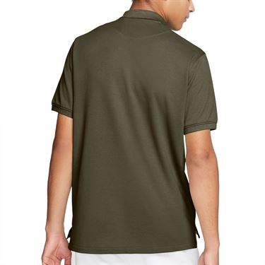 Nike The Nike Polo Shirt Mens Medium Olive CJ9524 222