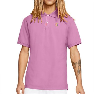 Nike The Nike Polo Shirt Mens Beyond Pink CJ9524 680