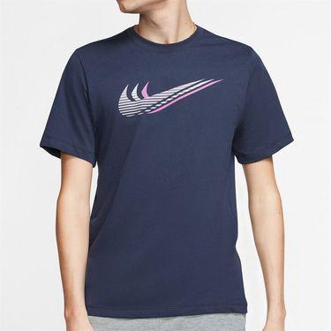 Nike Sportswear Tee Shirt Mens Obsidian/Iced Lilac CK4278 451
