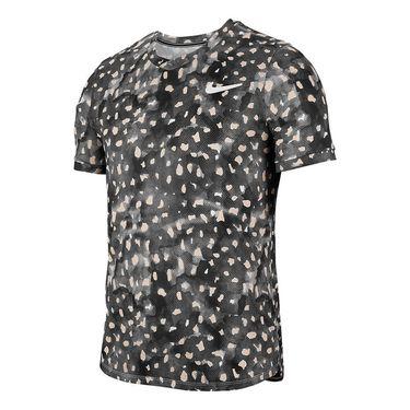 Nike Court Challenger Shirt Mens Gridiron/White CK474 015