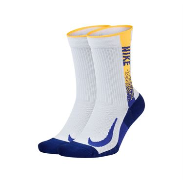 Nike Multiplier Max Crew (2 Pair) Socks - Multi