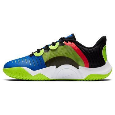Nike Court Air Zoom GP Turbo Mens Tennis Shoe Black/White/Volt/Laser Crimson CK7513 002