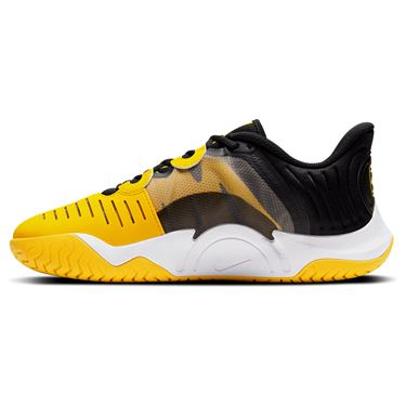 Nike Court Air Zoom GP Turbo Mens Tennis Shoe - Black/Yellow