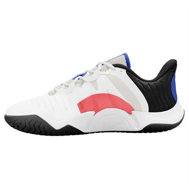 Nike Court Air Zoom GP Turbo Mens Tennis Shoe Summit White/Black/Electro Green CK7513 112