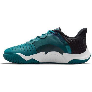 Nike Court Air Zoom GP Turbo Mens Tennis Shoe Dark Teal Green/White/Black/Green Glow CK7513 324