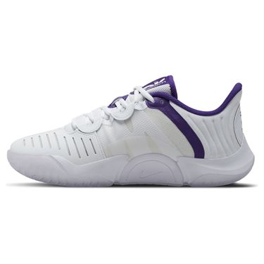Nike Court Air Zoom GP Turbo Womens Tennis Shoe White/Court Purple/Geyser Grey CK7580 102