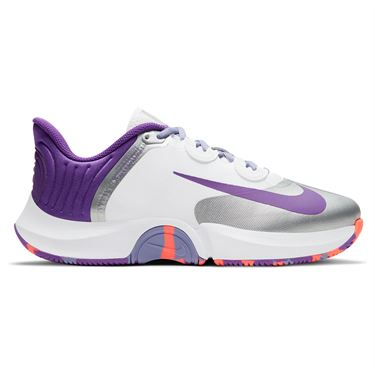 Nike Court Air Zoom GP Turbo Womens Tennis Shoe White/Wild Berry/Bright Mango CK7580 103