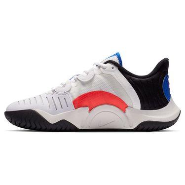 Nike Court Air Zoom GP Turbo Womens Tennis Shoe Summit White/Black/Electro Green CK7580 112