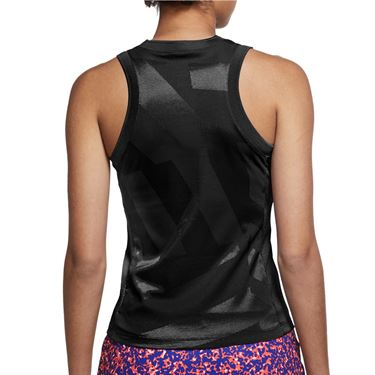 Nike Court Dri Fit Slam Tank Womens Black CK8285 010