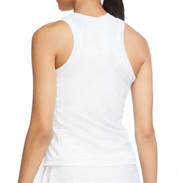Nike Court Dri Fit Slam Tank Womens White CK8285 100