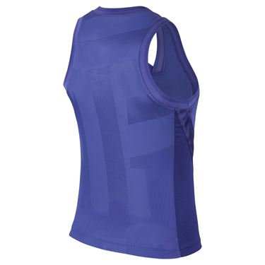Nike Court Dri Fit Slam Tank Womens Rush Violet CK8285 554