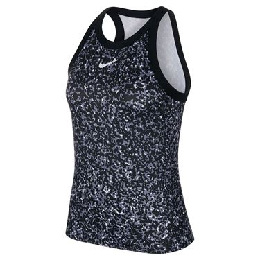 Nike Court Dri Fit Tank Womens Black/White CK8352 010