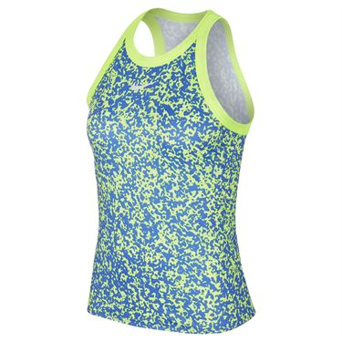 Nike Court Dri Fit Tank Womens Volt/White CK8352 6702