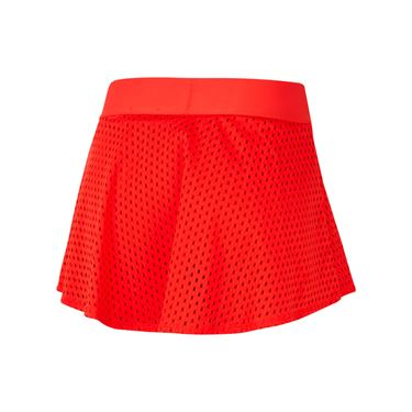 Nike Court Dri Fit Skirt Womens Habanero Red/White CK8397 634