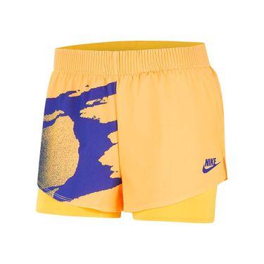 Nike Court Slam Short Womens Citrus/Ultramarine CK8430 848