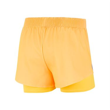 Nike Court Slam Short Womens Citrus/Ultramarine CK8430 848