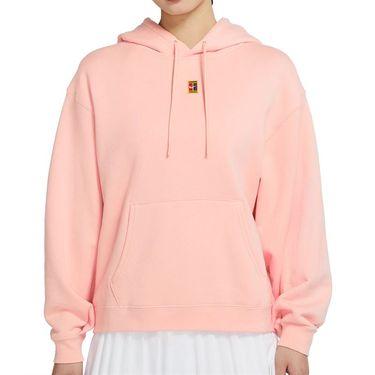 Nike Court Hoodie Womens Arctic Orange CK8447 800