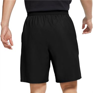 Nike Challenge Court Slam Short - Black/Hot Lime