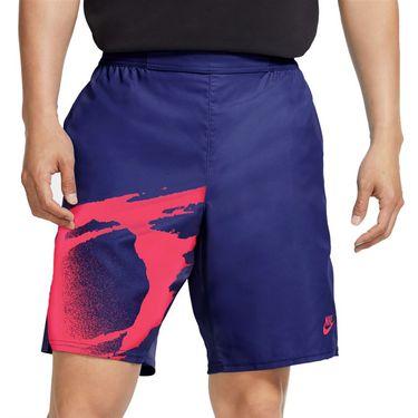 Nike Challenge Court Slam Short - Ultra Marine/Solar Red